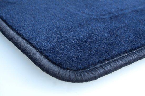 Donkerblauwe velours automatten Citroen DS5 2012 ->