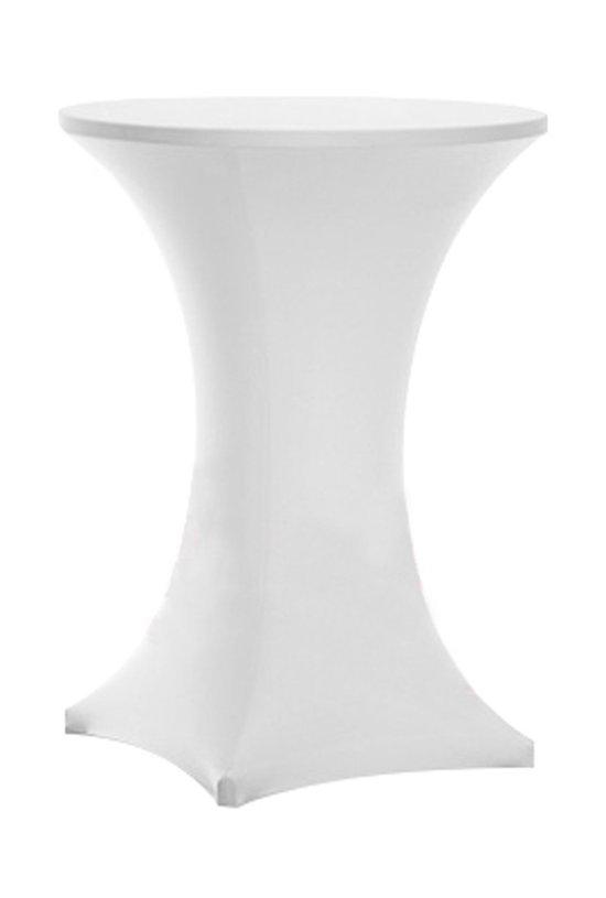 Hoes Voor Statafel.Professionele Witte Spandex Stretch Statafelhoes Voor Horeca Evenementen 80 X 110 Cm Sta Tafel Hoes Statafel Staantafelhoes Staantafel Wit
