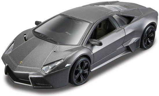 Modelauto Lamborghini Reventon grijs montage kit/set 1:32 - speelgoed auto schaalmodel
