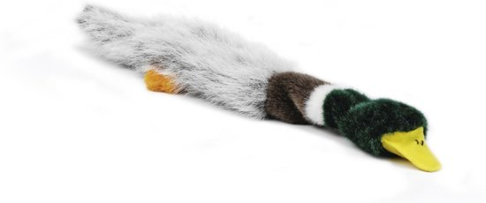Beeztees Flatino Eend - Hondenspeelgoed - 48 cm