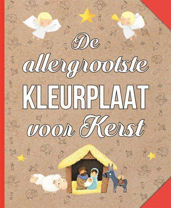 Bol Com De Allergrootste Kleurplaat Voor Kerst Diverse Auteurs