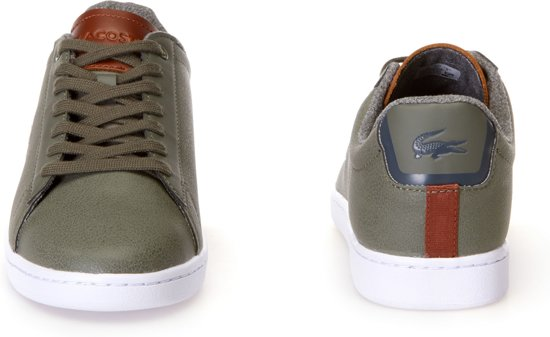 wit Carnabysneakers Groen 45 Maat Lacoste Mannen aUwqfnqZ
