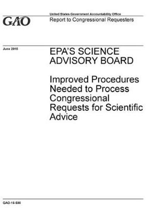 EPA's Science Advisory Board