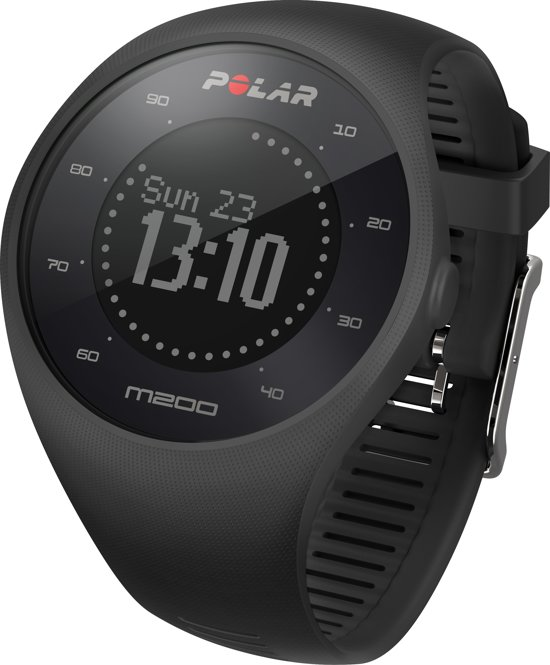 Polar M200 GPS Sporthorloge - Zwart - M/L