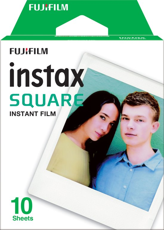 Fujifilm Instax Square Film - Wit kader - 10 stuks