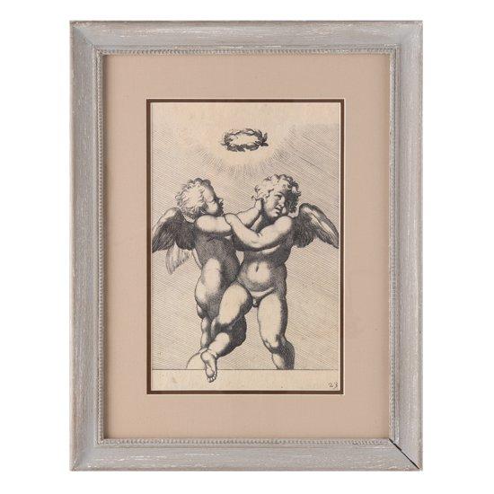 Clayre & Eef Schilderij 36x2x46 cm