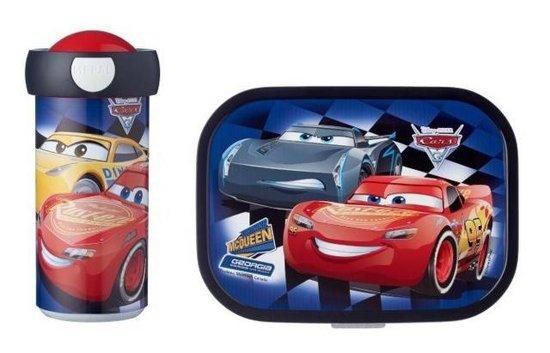 Mepal Lunchset Cars - Lunchbox en Schoolbeker
