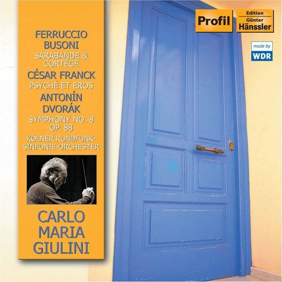 Busoni.Franck.Dvorak.Carlo Maria Giulini 1-Cd