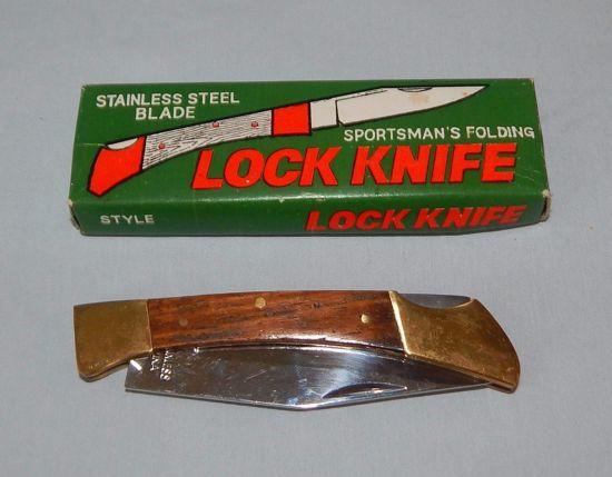 Sportsman's folding Lock knife