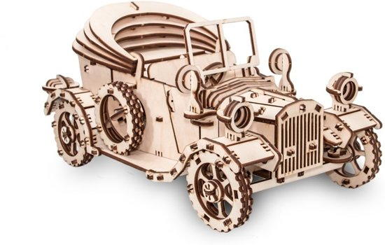 Eco-Wood-Art Retro Auto - Houten Modelbouw