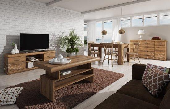Interieur Woonkamer Eiken : Bol complete woonkamer crown eiken groot