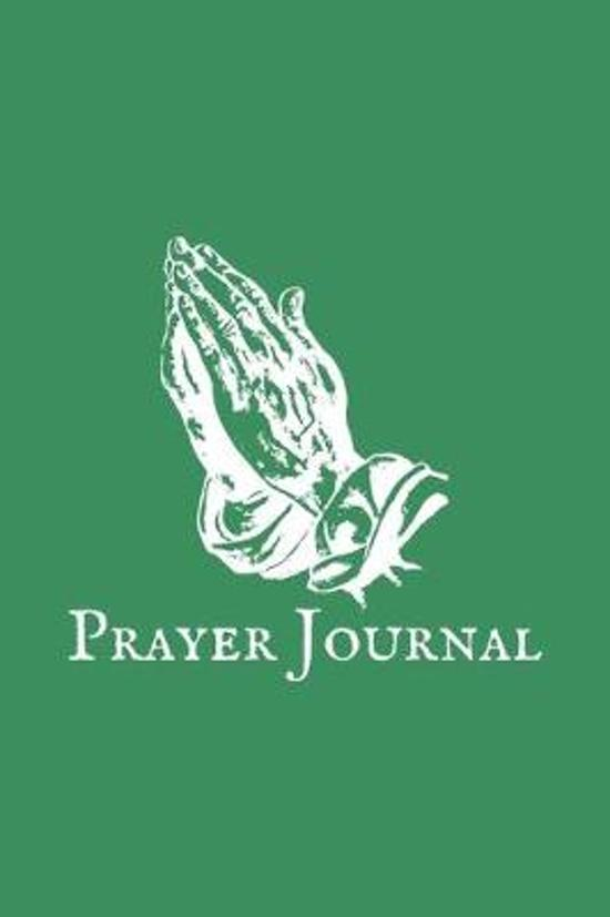 Prayer Journal: Sea Green Christian Notebook - Beautiful Color Sea Green - 6x9inch 100 pages