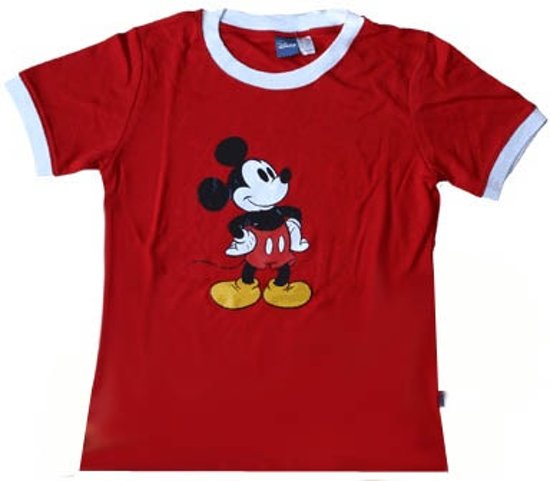 Mickey Mouse meisjes t-shirt maat 152 (S)