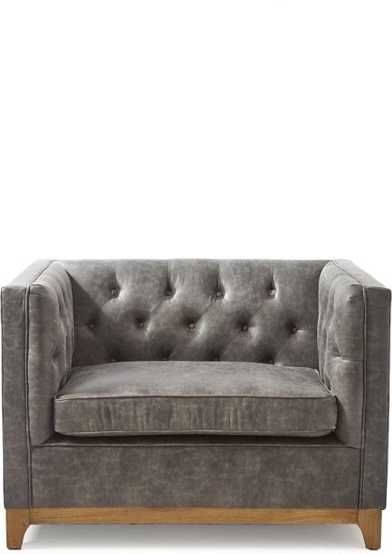 Rivièra Maison Central Park Love Seat - 1,5-zitsbank - Antraciet