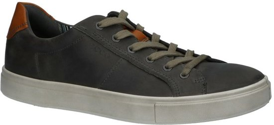 Ecco Gris Casual Chaussures Hommes Occasionnels Avec Lacer 4ZNMWu