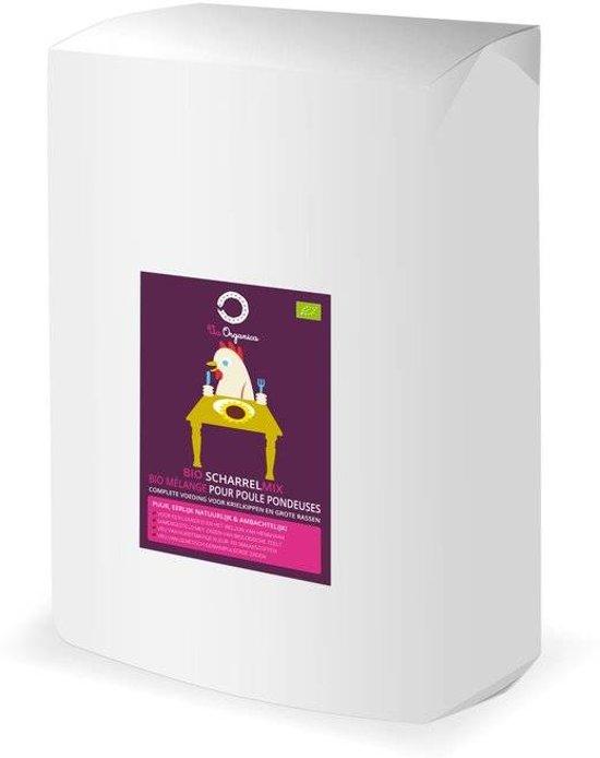 Bio Scharrelmix 12,5kg - biologisch kippenvoer