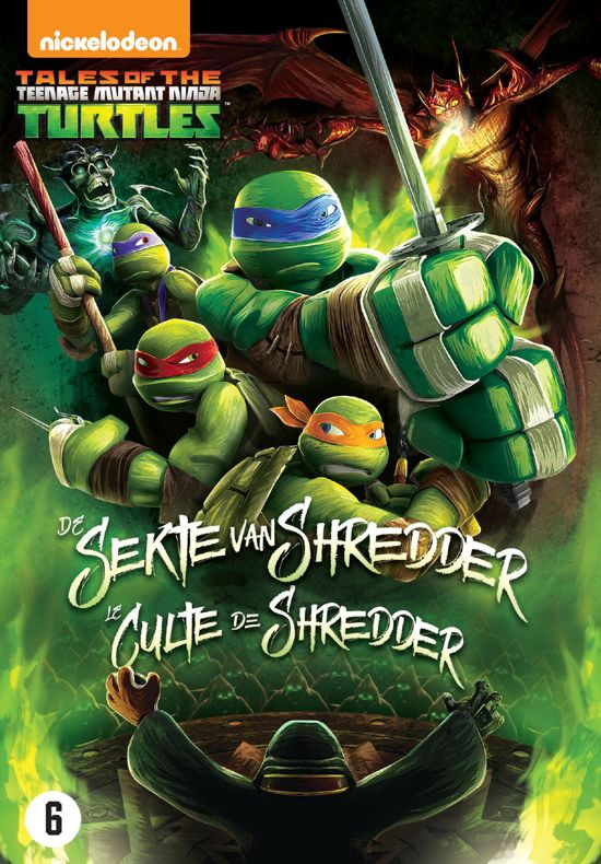 Bolcom Teenage Mutant Ninja Turtles De Sekte Van Shredder Dvd