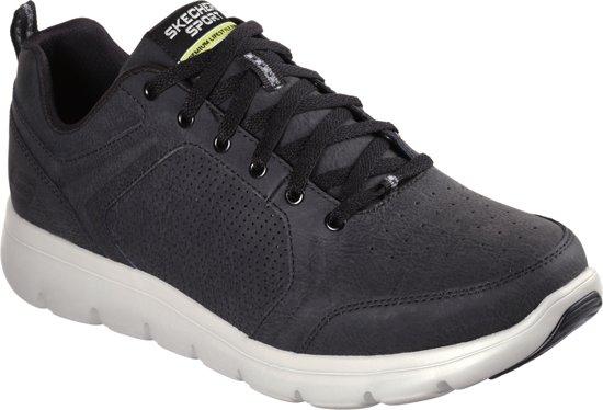 7bfb6af9ed3 bol.com   Skechers Marauder Sneakers Heren - Black Grey - Maat 48,5