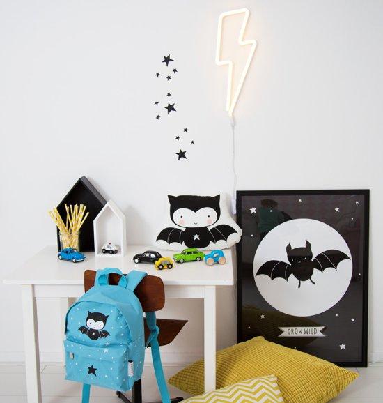 A Little Lovely Company Neon Wandlamp Bliksem - Geel