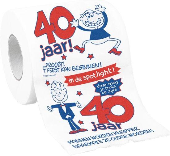 Bekend bol.com | WC Papier - Toiletpapier - 40 jaar man, Paper dreams  #LV36