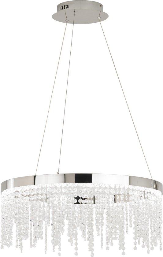 EGLO Antelao hangende plafondverlichting Flexibele montage Chroom, Transparant