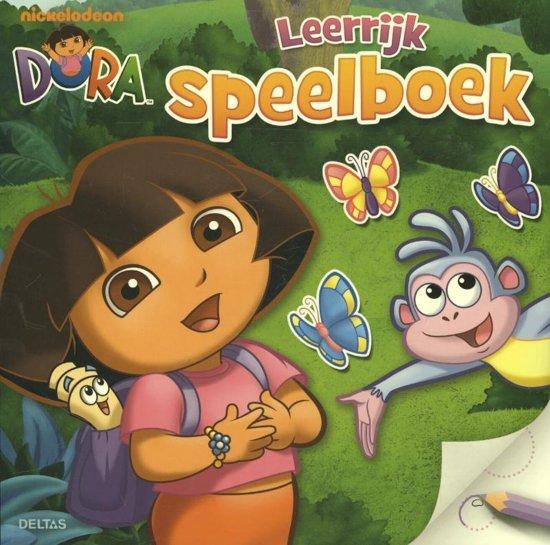 Kleurplaten Dora Spelletjes.Bol Com Dora Leerrijk Speelboek Onbekend 9789044736601 Boeken