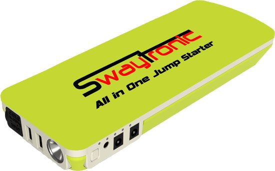 swaytronic all in one jump starter powerbank 18. Black Bedroom Furniture Sets. Home Design Ideas
