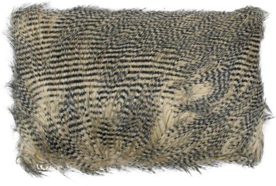 Bol mars more struisvogel sierkussen cm zwart