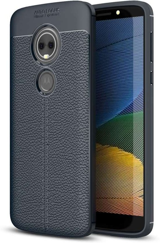 new products 74681 dcc1a Just in Case Motorola Moto G6 Play Back Cover Soft TPU Blauw