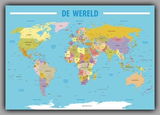Bol poster kaart wereld 100x70cm poster kaart wereld 100x70cm thecheapjerseys Images