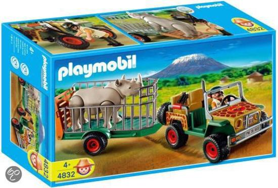 playmobil safari terreinwagen 4832 playmobil. Black Bedroom Furniture Sets. Home Design Ideas