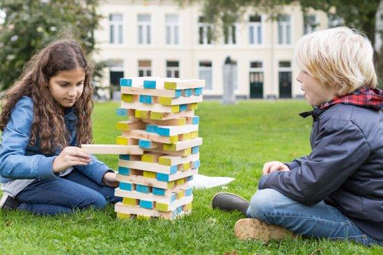 Thumbnail van een extra afbeelding van het spel BS® Grote toren met dobbelsteen
