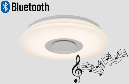 Plafondlamp led badkamer glas mat 20w led ip44 203mm. highlight