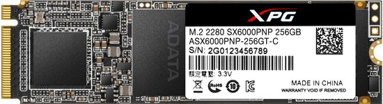 SX6000 Pro, 256 GB Solid State Drive