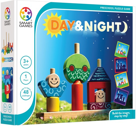 Smart Games Day & Night (48 opdrachten)