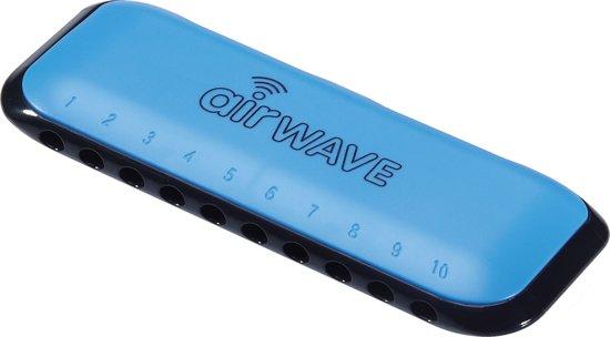 Mondharmonica Airwave AW1 Suzuki - BLAUW + 2 lesboeken