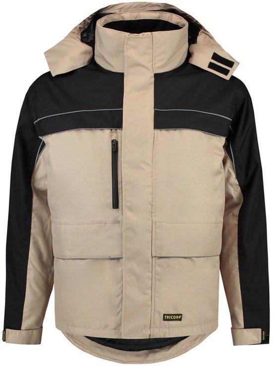 Tricorp Parka Cordura - Workwear - 402003 - khaki / zwart - Maat 4XL