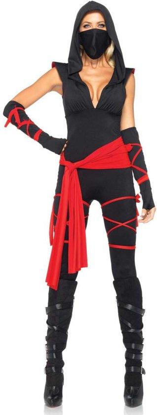 """""""Sexy ninja outfit voor dames  - Verkleedkleding - XL"""""""