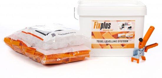 Fix plus Tegel Leveling Systeem Starters Kit 100 PRO 1mm.