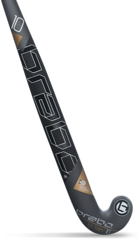 2f2adf64bbd bol.com | Brabo TC10 JR Hockeystick - Sticks - zwart - 33
