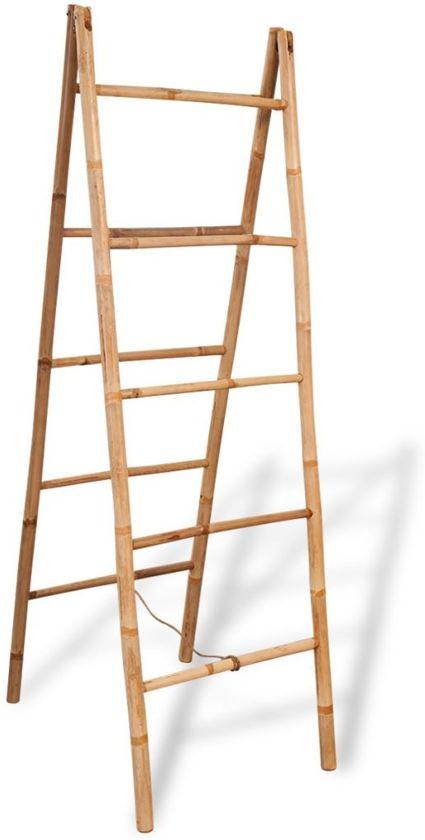 Bamboe Handdoek Ladder.Ladder Handdoeken Decoratief Handoekkenrek Bamboe Bamboo 50x160cm