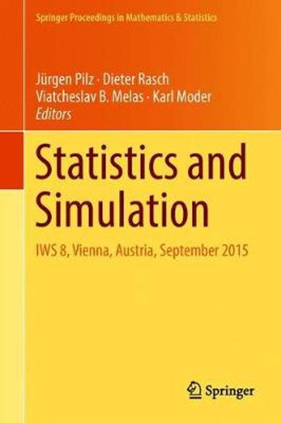 Statistics and Simulation