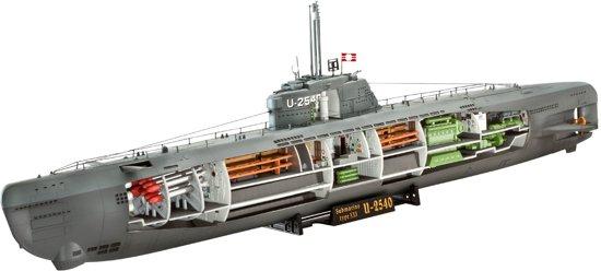 bol.com   Revell Boot U-Boot Typ XXI U 2540 & Interieur - Bouwpakket ...