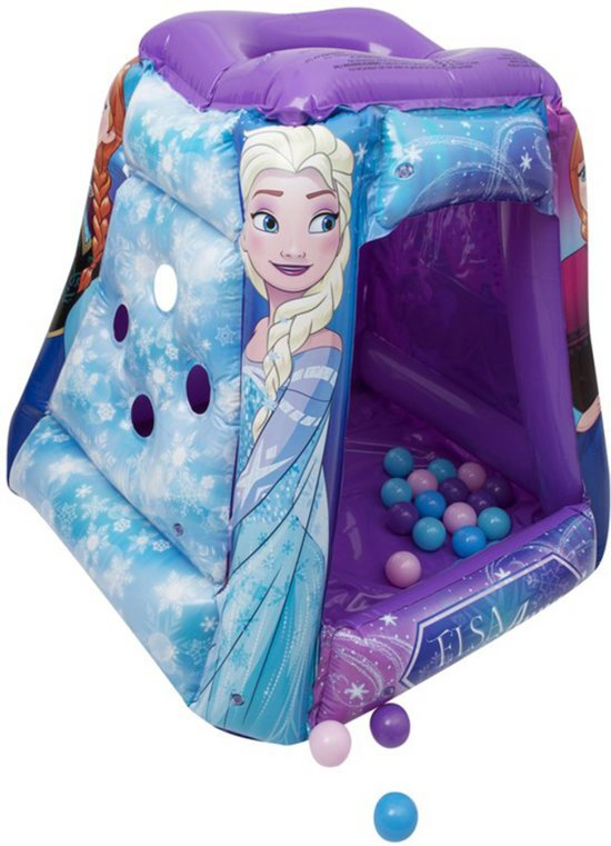 Frozen Playland Square Ball Pit with 20 Balls