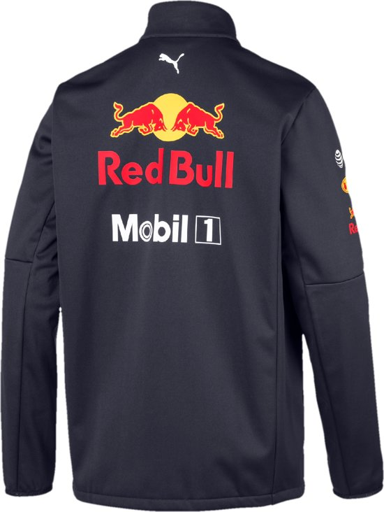 PUMA Red Bull Racing Team Softshell Jas Heren - Night Sky
