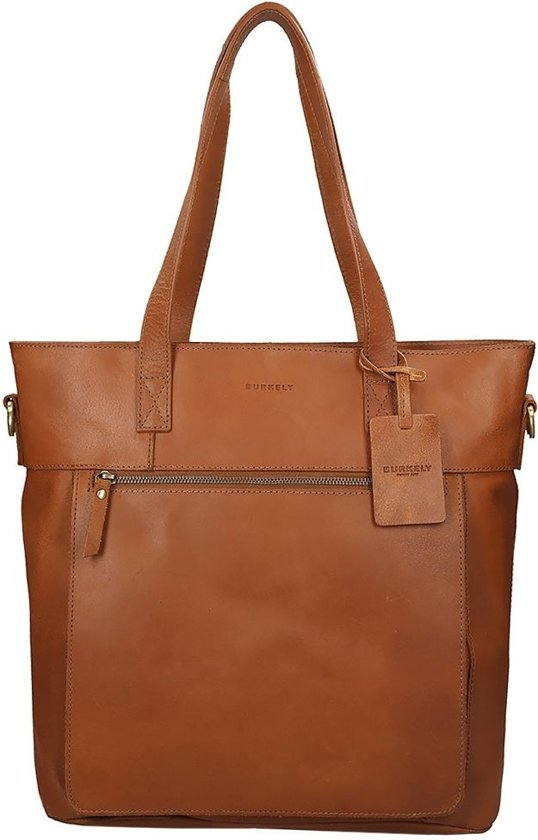 BURKELY Notebook - Shopper - Cognac