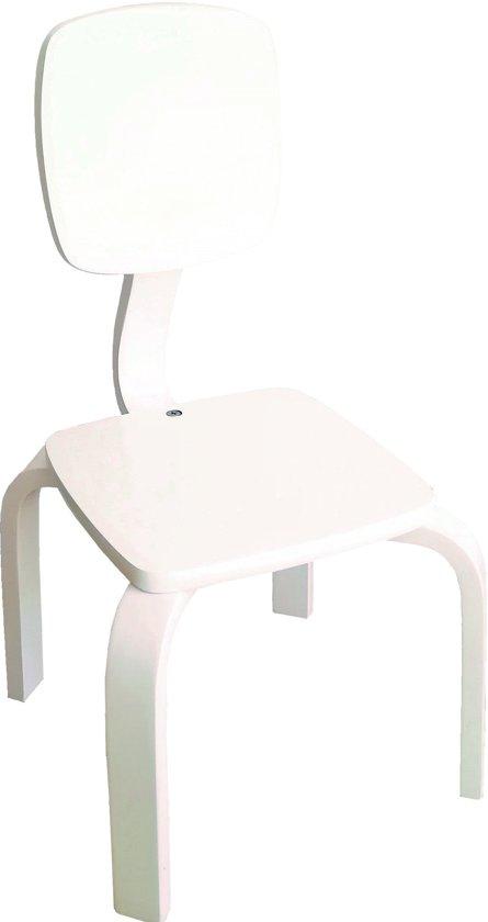 Houten Kinderstoel Wit.Bol Com Playwood Houten Stoel Voor Kinderen Kinderstoeltje Wit