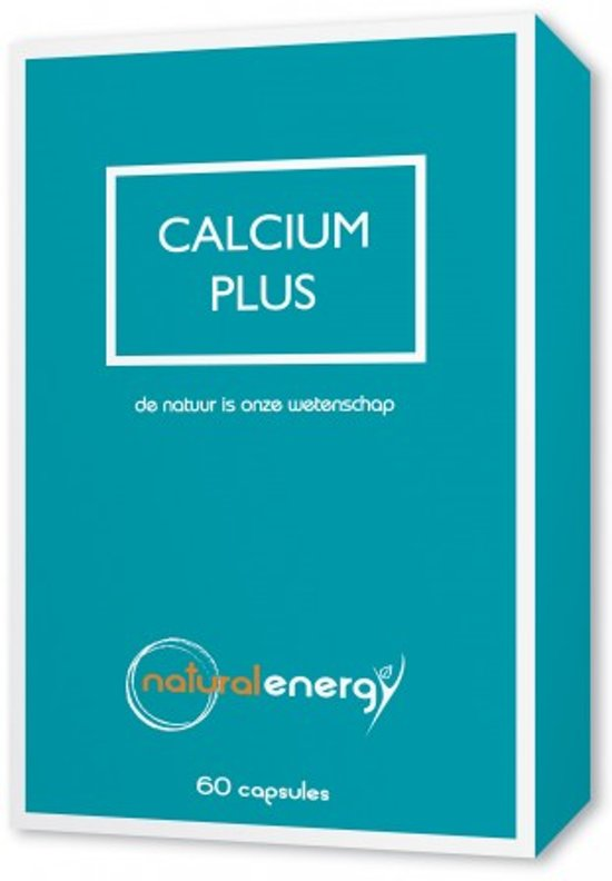 Calcium Plus Natural Energy 60 Capsules