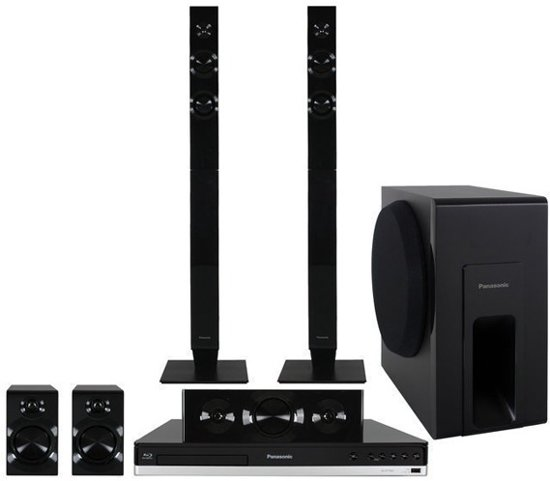 Panasonic SC-BTT465EG9 - 5.1 Home cinema set - Zwart