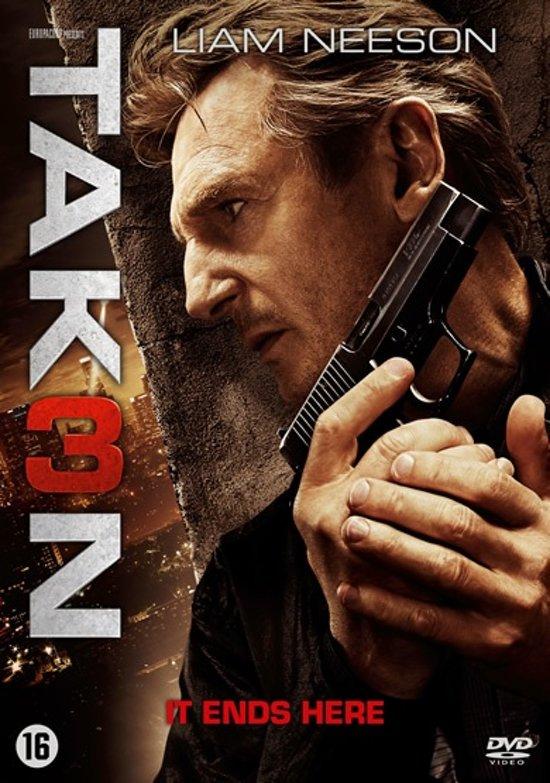 DVD cover van Taken 3